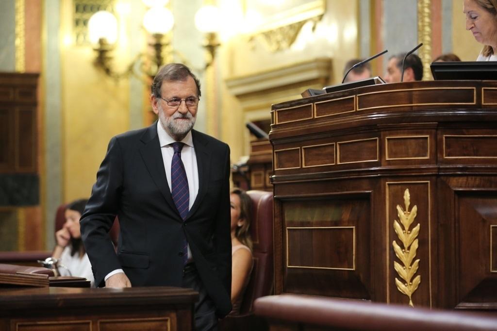 Mariano Rajoy, en el pleno de la Gürtel.
