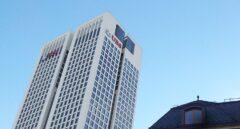 Oficinas de UBS y Julius Baer en Francfort.
