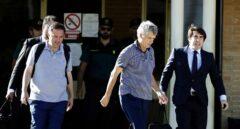 Ángel María y Gorka han salido esta tarde de la prisión madrileña de Soto del Real.