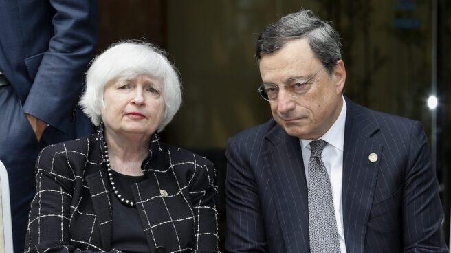 Janet Yellen y Mario Draghi acuden a Jackson Hole con el reto de evitar una nueva guerra de divisas.