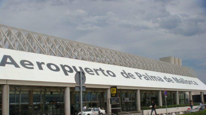 El aeropuerto de Palma de Mallorca.