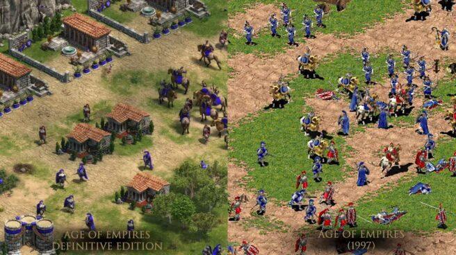 Comparativa de 'Age of Empires' , 20 años después.