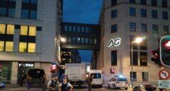 Lugar donde ha tenido lugar el ataque en Bruselas.
