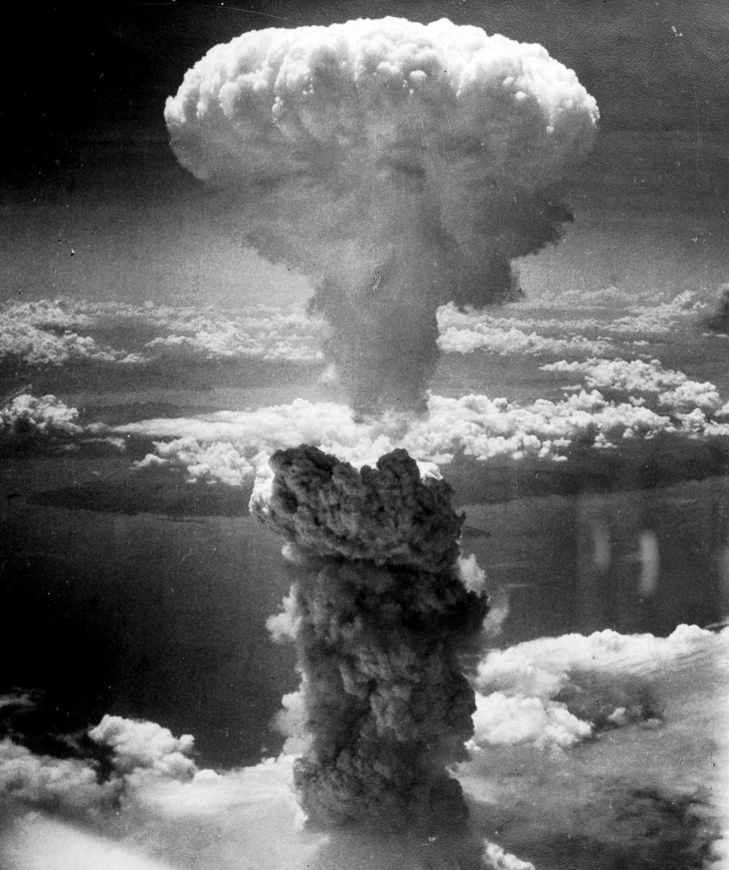 Bomba atómica sobre Nagasaki.