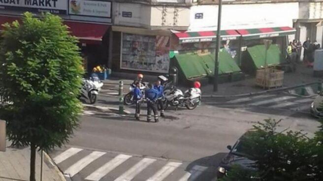 La Policía dispara en Bruselas contra un coche que aseguraba ir cargado de explosivos