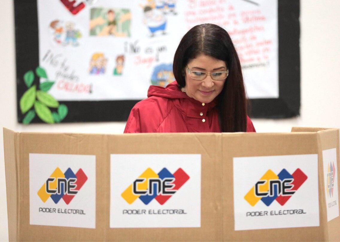La primera dama de Venezuela, Cilia Flores.