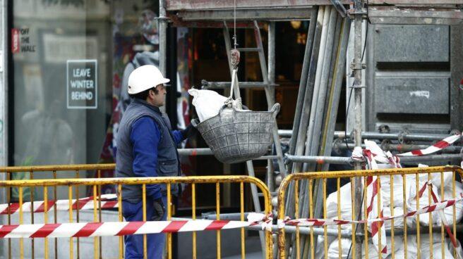 La mayoría de los trabajadores de la construcción son hombres.