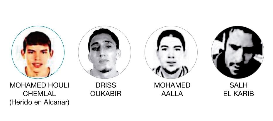 Mohamed Houli Chemlal es uno de los cuatro miembros de la célula que están detenidos.