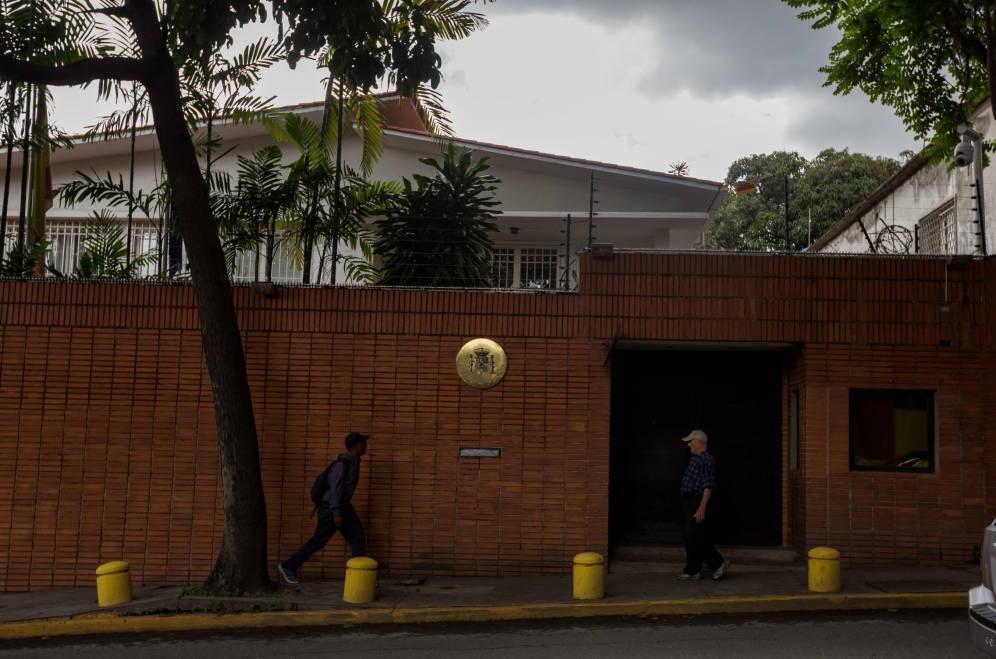 Embajada de España en Venezuela.