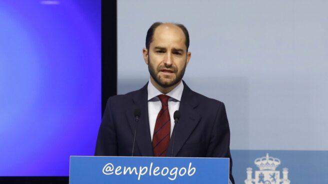 El secretario de Estado de Empleo, Juan Pablo Riesgo, responsable del Plan Prepara.
