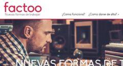 Imagen de la página web de Factoo.es