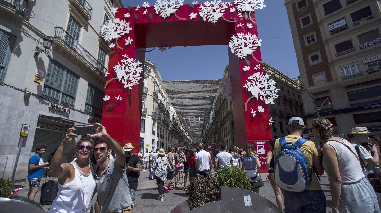 La portada de la Feria de Málaga.