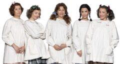 La niñas de Teatro El Florido pensil