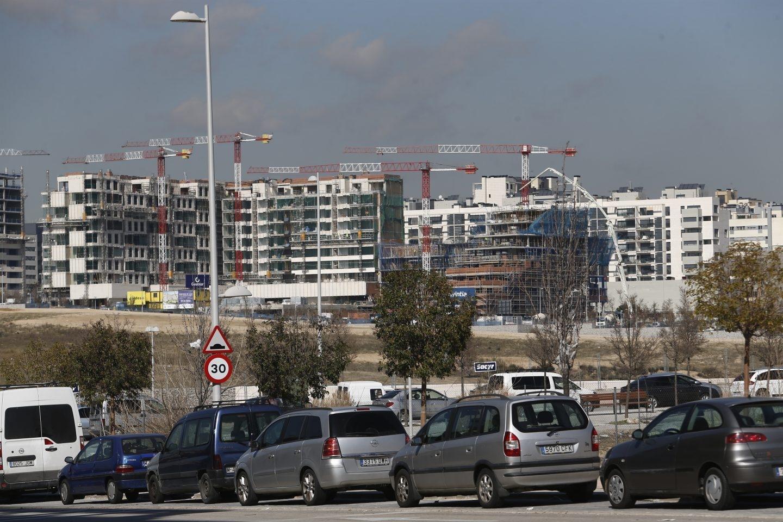 Viviendas de nueva construcción en España.