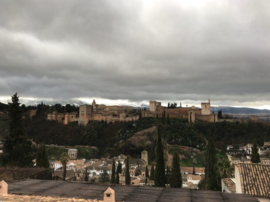 Vista de la Alhambra de Granada. Fotografía del pasado mes de marzo.