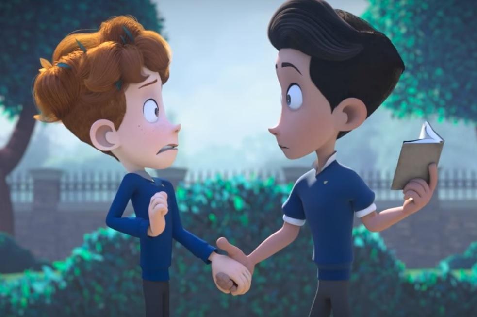 Fotograma del corto 'In a Heartbeat'.
