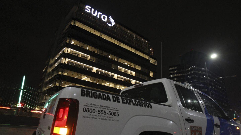 La sede de la filial de Indra en Buenos Aires, Argentina.