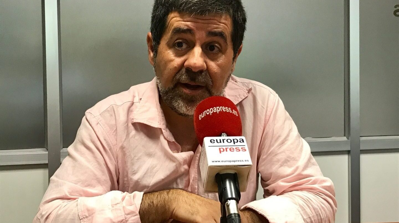 Jordi Sánchez, presidente de la ANC.