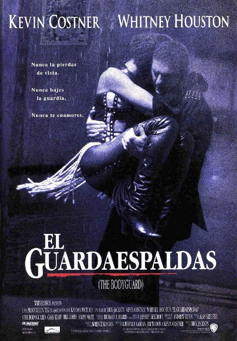 Cartel de 'El guardaespaldas'