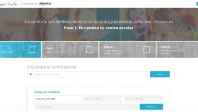Una web con todas las listas de libros de texto de colegios de España