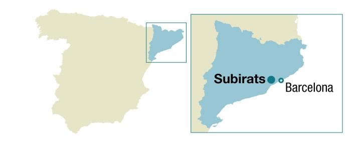 Localizador de Subirats.