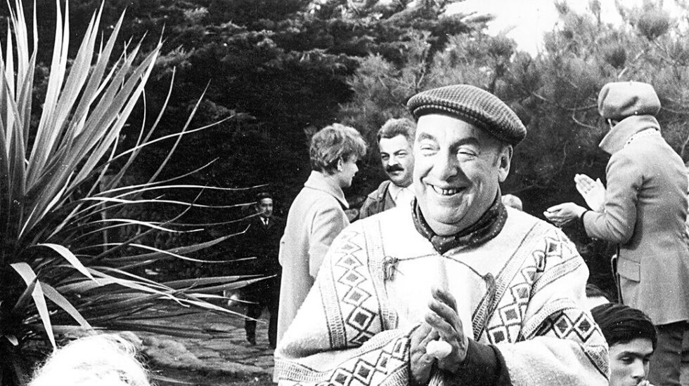 El poeta Pablo Neruda.