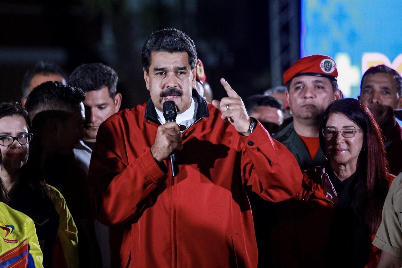 Nicolás Maduro, tras las elecciones del domingo en Venezuela.
