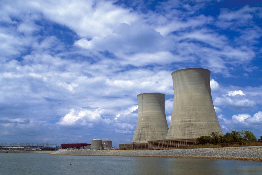 Una central nuclear en Tennessee, en EEUU.