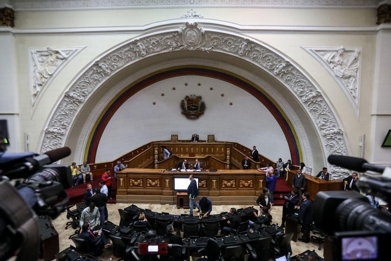 Vista general del Palacio Federal Legislativo, donde trabajará la Asamblea Constituyente.