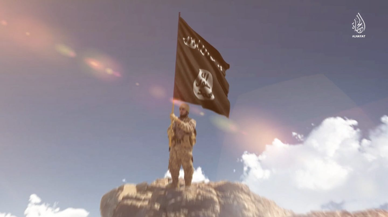 Fotograma de un vídeo de propaganda del Isis