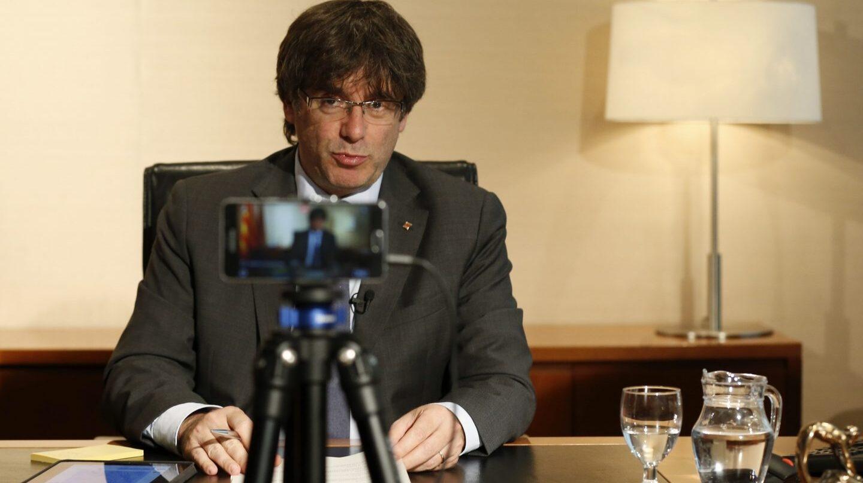 """Carles Puigdemont ha asegurado este martes que un ejército propio es """"absolutamente indispensable"""" para Cataluña."""