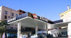 Una estación de servicio de la red de Repsol.