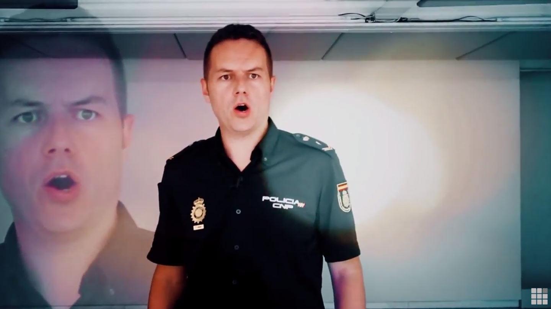 El policía-tenor, Ángel Cortés Castejón.