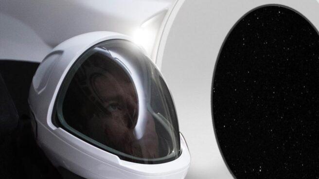 Traje espacial de Space X.