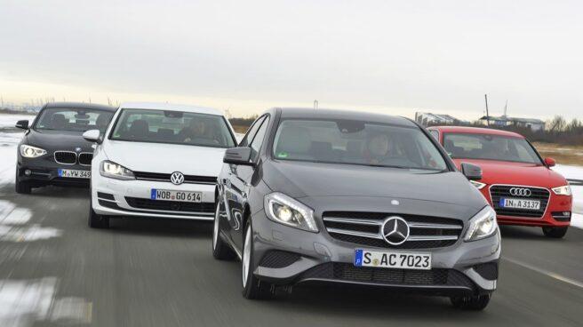 Los fabricantes de vehículos alemanes se han visto penalizados en bolsa.