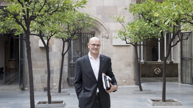 El consejero de Asuntos Exteriores de la Generalitat de Cataluña, Raül Romeva.