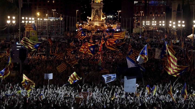 Acto unitario de final de campaña en Barcelona.