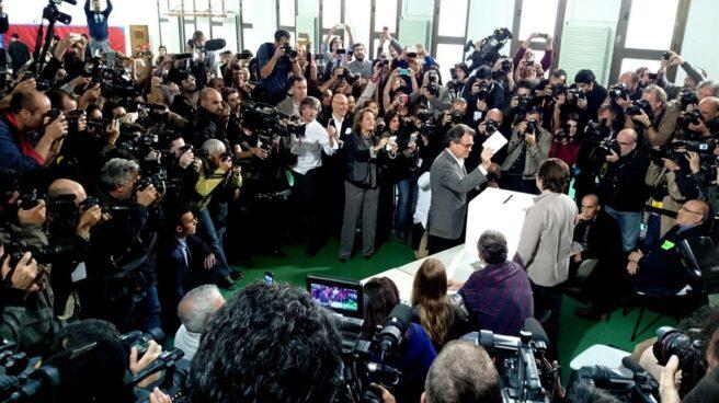 Artur Mas sacó las urnas el 9-N.