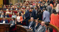 El TC anula el acuerdo del Parlament que permitió tramitar la ley del referéndum
