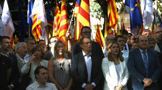 Referéndum 1-O: Artur Mas, en la Diada.
