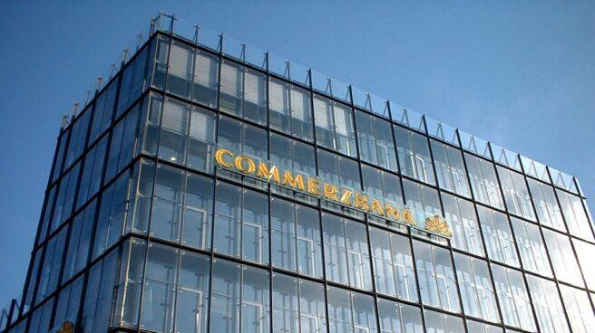 Edificio de Commerzbank en Bielefeld.