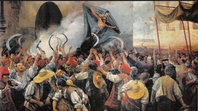 """Corpus de Sangre"", obra de Antoni Estruch (1907)."