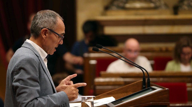 Referéndum 1-O: El portavoz de Catalunya Si que es pot, Joan Coscubiela.