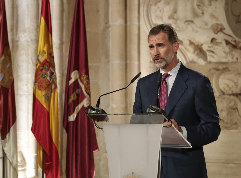 El Rey, el pasado 13 de septiembre en Cuenca durante su discurso en la entrega de los Premios Nacionales de Cultura.