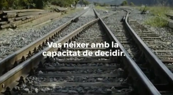 Anuncio del referéndum de la Generalitat.