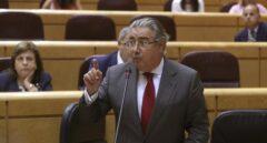El ministro del Interior, Juan Ignacio Zoido, este martes en el Senado.