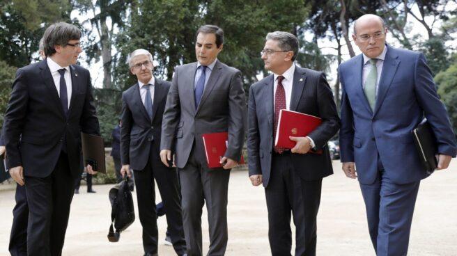 Referéndum 1-O: reunión de la Junta de Seguridad en Barcelona.