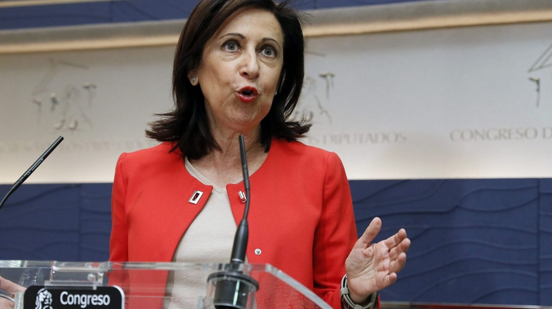 Margarita Robles, en el Congreso.