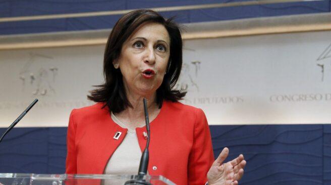 Margarita Robles en el Congreso.