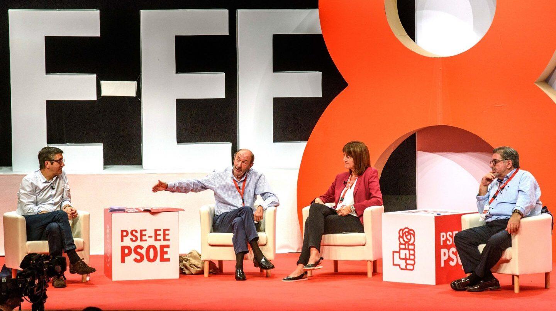 Acto del PSOE sobre el fin de ETA
